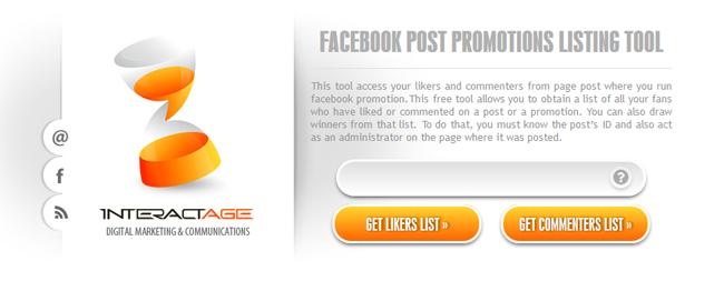 безплатен софтуер за фейсбук промоции в пост