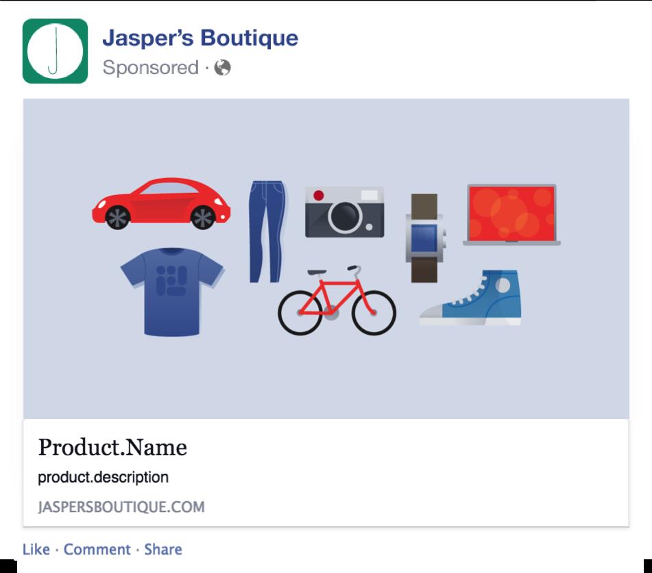 Facebook dynamic product ads реклами за интернет магазини