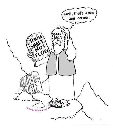 Десетте Божии заповеди в социалните мрежи
