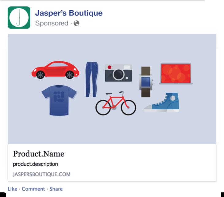 Динамични продуктови реклами за интернет магазини във Facebook